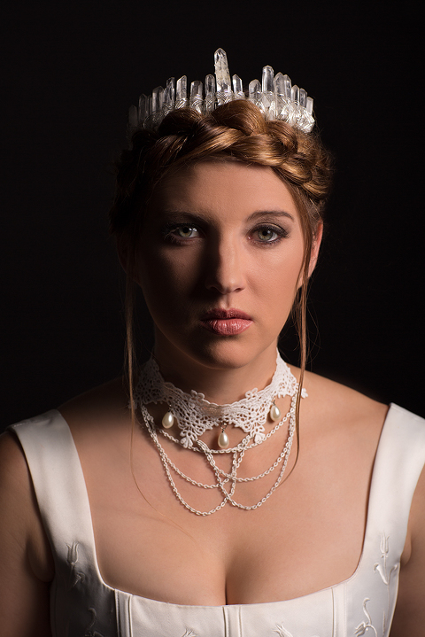 Commercial Portrait by Amanda Umberger Photography and Motion Delusions of Grandeur White Queen
