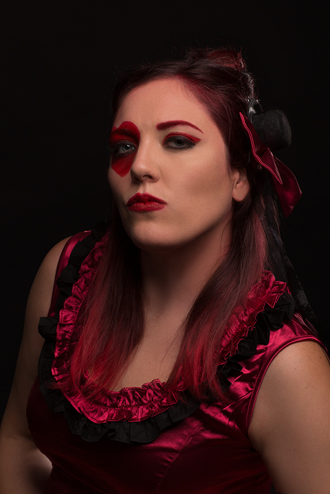 Commercial Portrait by Amanda Umberger Photography and Motion Delusions of Grandeur Red Queen