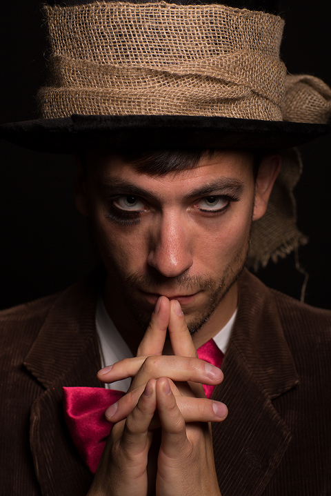 Commercial Portrait by Amanda Umberger Photography and Motion Delusions of Grandeur Mad Hatter