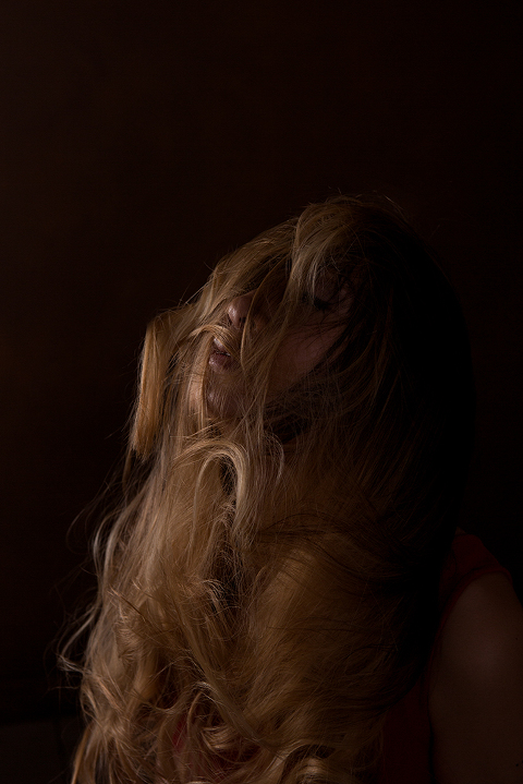 Conceptual and Emotive Portrait by Amanda Umberger Photography and Motion Turmoil Series